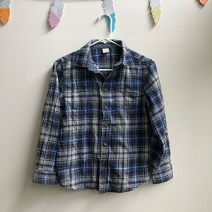 Gymboree boys flannel size 10-12 L